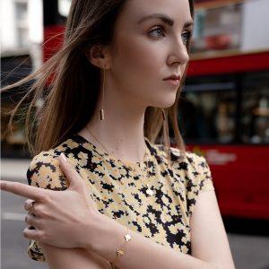 Baori One Pendant Necklace  by Jewel Tree London