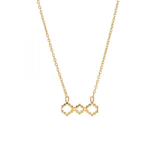 Baori Trinity Silhouette Necklace