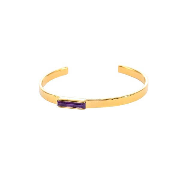 Urban  Mini Cuff Amethyst