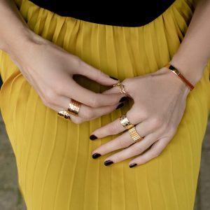 Baori Silhouette Ring Jewel Tree London