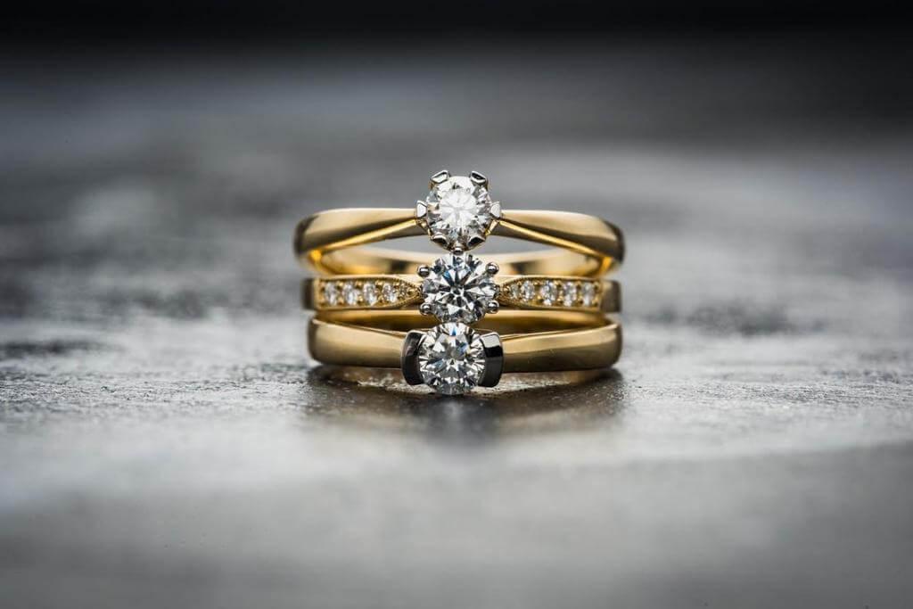 Diamonds in jewellery design
