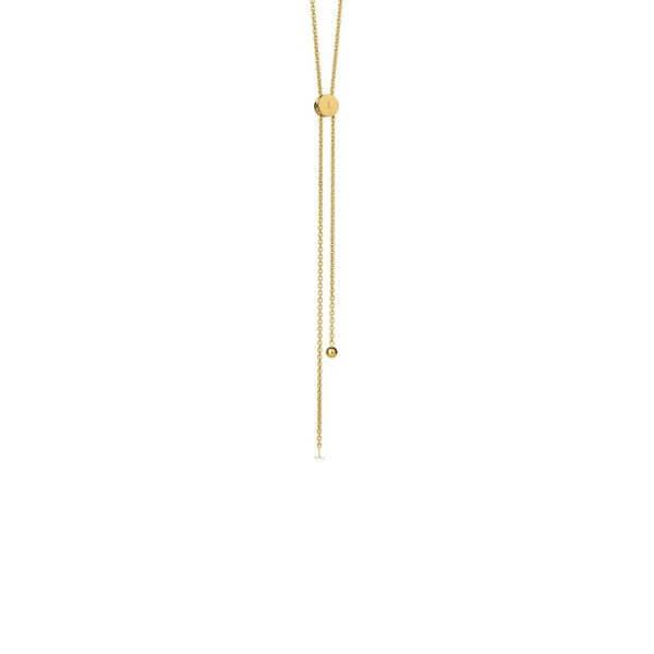 Necklace - LOGO CHAIN NECKLACE  18ct Gold Vermeil