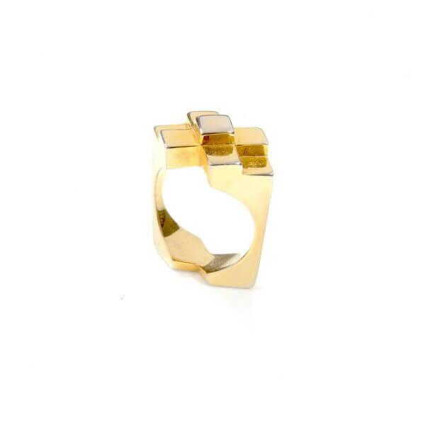 Ring - ORIGINAL ICON RING  18ct Gold Vermeil