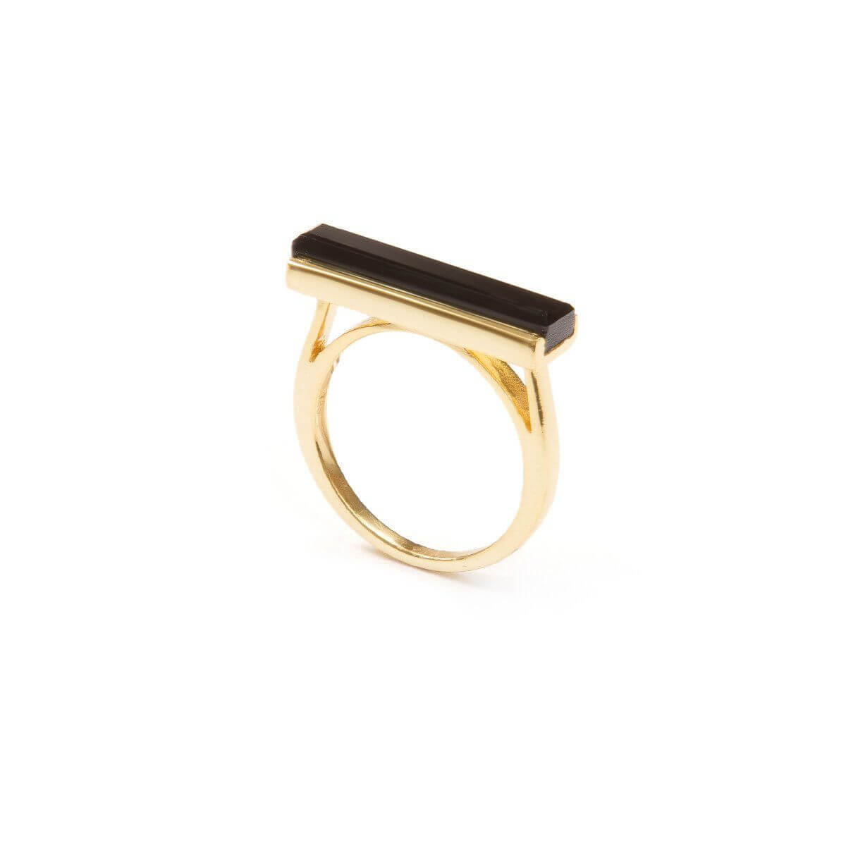 Ring - URBAN RING   Black Onyx