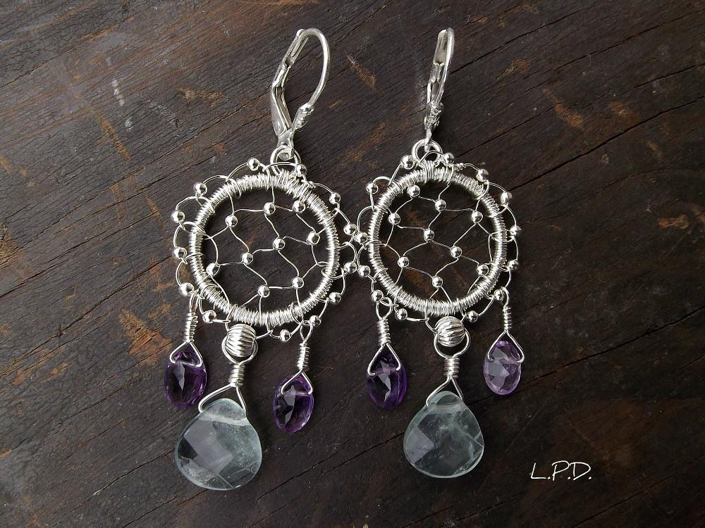 These Dreamcatcher Earrings