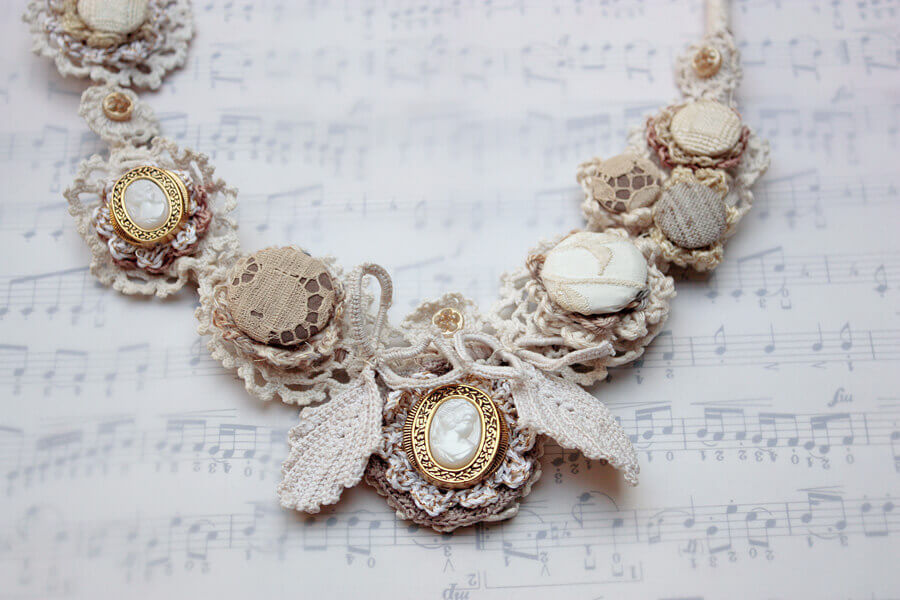 This Racy Lacy Necklace